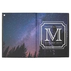 #createyourown #customize - #Handsome Monogram Beautiful Landscape Photo Simple iPad Pro Case