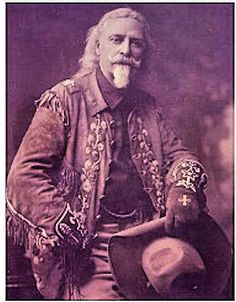Buffalo Bill Cody was papaw's all time favorite hero of the west & his role model when he was a boy. He got to meet him at the 101 Ranch, Ok.