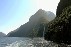 Photo Caption: Milford Sound in New Zealand  What Not to Miss: Top excursions include kayaking trips through the fjords, where you may spot bottlenose dolphins or seals lazing on the rocks.   Best Time to Go: November through April, when it's summer in the Southern Hemisphere and in New Zealand.   Cruise Lines to Consider: Celebrity Solstice, Holland America, Cunard, and Seabourn lines.