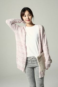 Spring Open Long Cardigan