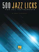 500 Jazz Licks (Softcover)