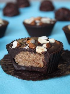 Jumbo Almond Butter Cup by Sweetly Raw