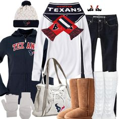 Houston Texans Winter Fashion