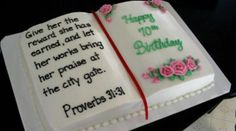 book cake for birthday. Proverbs All done in buttercream. book cake for birthday. Proverbs All done in buttercream. 70th Birthday Cake For Women, Happy Birthday Mom Cake, 70th Birthday Parties, Cake Birthday, Birthday Book, Birthday Cookies, Surprise Birthday, Husband Birthday, Birthday Quotes