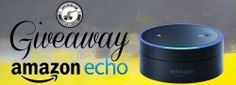 Enter to win Enter to Win: http://prmo.me/GZZrUS  Share by Twitter  Share by Facebook  Share by email  An Amazon Echo Dot!