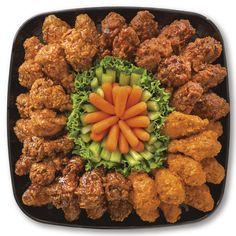 Publix Deli Wing Sampler Platter, Large Serves 26-30 make your job easier at the cookout #contest
