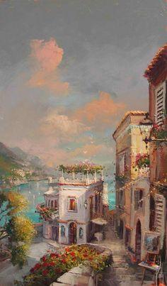 Amalfi Daybreak Artist Steven Quartly