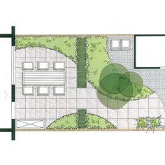 Landscape Plans, Landscape Architecture, Pocket Garden, Pocket Park, Urban Park, Private Garden, Garden Planning, Backyard Patio, Terrace
