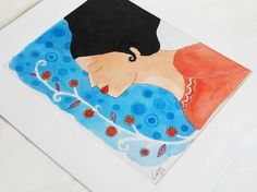 *FREE SHIPPING*  ------------------------  Here you find an original illustration *made by hand* that make life more beatiful.    All our illustrat...