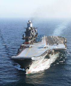 Admiral  Kuznetzov by FrigateRN