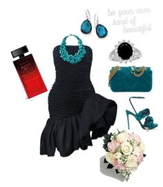 """""""Evening out"""" by dhamandishe on Polyvore featuring Marco de Vincenzo, Gucci, Emanuel Ungaro, TravelSmith, Elizabeth Arden, PBteen and Ippolita"""