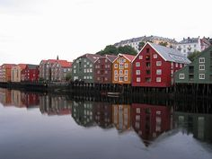 Trondheim in Norway - From THE ESSENCE OF THE GOOD LIFE™ - http://www.pinterest.com/LeneGede/