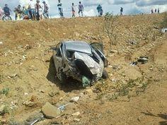 Uma pessoa morre e outras três ficam feridas em mais um acidente no Cariri; VEJA FOTOS!