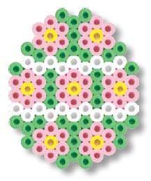 Osterei / Hama Perlen - perler beads - Bügelperlen