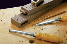 Mortise & Tenon Joinery   Woodsmith Plans - There are several good ways to make a mortise and tenon joint. The trick is determining which one is best for the task at hand.  Mortise and tenons are often the backbone of a woodworking project. And with the power tools available today there are several ways of creating both the mortise and the tenon. Drill press, router, dado blade, tenon jig, and dedicated hollow chisel mortisers, this article explains the pros and cons of each method.