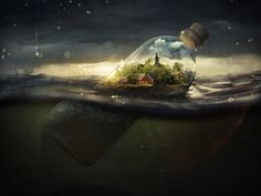 Drifting Away - A safe place, drifting away.  Photo by Erik Johansson.