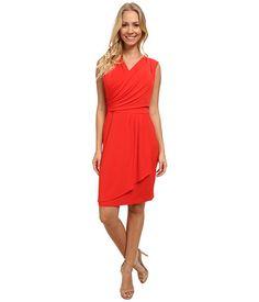 Calvin Klein Calvin Klein  Wrap Dress w Side Buttons Tango Womens Dress for 79.99 at Im in! #sale #fashion #I'mIn