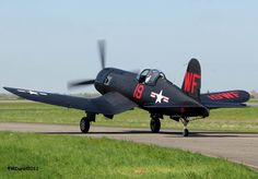 Restored F4U-5N night fighter . . .
