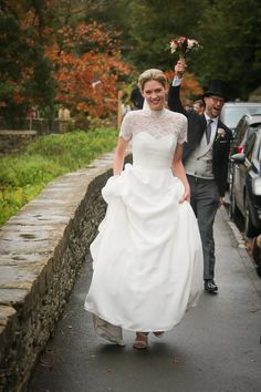 Claire & Nick's Cotswold wedding at The Swan in Bibury Wedding List, Wedding Car, Wedding Dresses, Flower Girl Hairstyles, Bride Hairstyles, Uk Wedding Cakes, Caroline Castigliano, Girls Dresses, Flower Girl Dresses