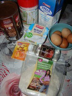 Cristina's world: Prajitura rasturnata cu crema de lapte - dukan style Sweet Pastries, Healthy Sweets, Deserts, Dessert Recipes, Dukan Diet, Sweets, Postres, Clean Eating Sweets, Dessert