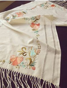 Hand Embroidery, Embroidery Designs, Needful Things, Cool Suits, Cross Stitch, Indian, Color, Inspiration, Needlepoint