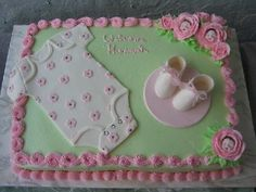 If God blesses us with a granddaughter, then I will have this cake made for that occasion, I love this cake! w.
