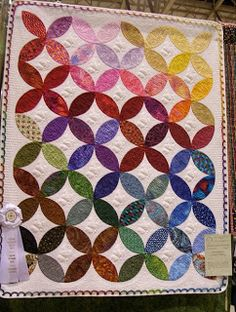 orange peel quilt pattern | ... to share what I had. I hope there's a quilt show in your near future