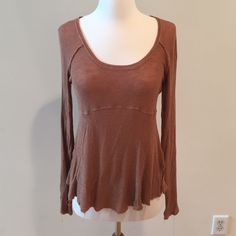 Intimately Free People top This does have some pilling. Burnt orange color Free People Tops