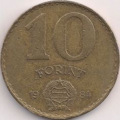 Wertseite: Münze-Europa-Mitteleuropa-Ungarn-Forint-10.00-1983-1989 Old Money, Coin Collecting, Budapest, Old Photos, Old School, Coins, History, Vintage, Hungary