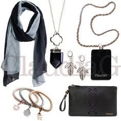 LOOK 12, Black and Silver - ClaudiaG Collection