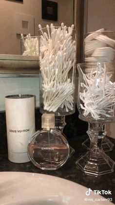 Dollar Tree Decor, Dollar Tree Crafts, Dollar Tree Candle Holders, Diy Crafts For Home Decor, Home Craft Ideas, Dollar Stores, Decorating With Glass Vases, Decorating Ideas, Wedding Decor