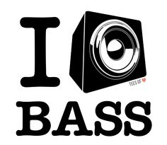 I Love Bass, by Tees of Love