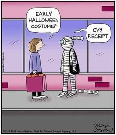 Who here has been personally victimized by a CVS receipt? Funny Halloween Memes, Happy Halloween, Funny Halloween Pictures, Halloween 2018, Halloween Art, Halloween Stuff, Retail Humor, Funny As Hell, Crazy Funny