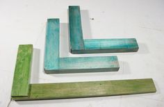 diy wooden try squares and clamping squares