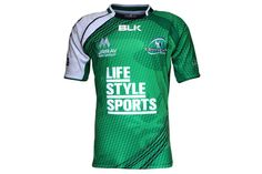 Connacht Home S/S Replica Rugby Shirt Rugby Shirts, Stuff To Buy, Style, Fashion, Sports Shirts, Sports, Moda, Fashion Styles, Fashion Illustrations