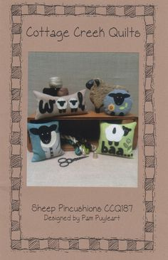 Sheep Pincushions