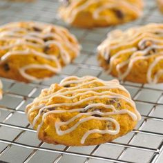 Pumpkin Spiced and Iced Cookies... Swap ingredients as needed to make Gluten-free
