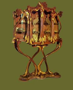 Art Nouveau furniture and Mirrors