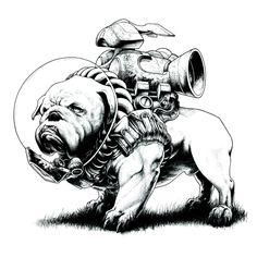 Jetpack Dogs — Gregory Titus Illustration