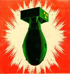 Image result for vintage bomb poster