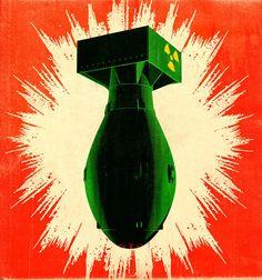 Image result for vintage bomb poster