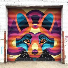 NYC street art. Astoria, Queens. I am Eelco. Welling Court Mural Project