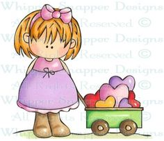 Patsy's Love Wagon - Love Images - Love - Rubber Stamps - Shop