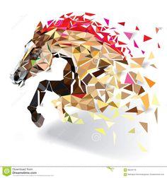 Pferd In Der Geometrischen Musterart ENV 10 - Wählen Sie aus über 55 Million qualitativ hochwertigen, lizenzfreien Stockfotos, Bilder und Vektoren. Melden Sie sich noch heute KOSTENLOS an. Bild: 66546118