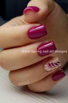 Nails Art Design New Free Idea Current Trends According To Seasons İn Manicure 2019 - Pag. Nails Art Design New Free Idea Current Trends According To Seasons İn Manicure 2019 - Page 30 of 35 , Diy Nails Spring, Nail Designs Spring, Summer Nails, Fall Nails, Nail Art For Spring, Summer Vacation Nails, Simple Nail Art Designs, Diy Nail Designs, Spring Design