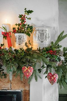 Filled with vintage finds and family treasures, Spot and Charlie's Welsh cottage offers a warm welcome to friends and neighbours, especially at this time of year