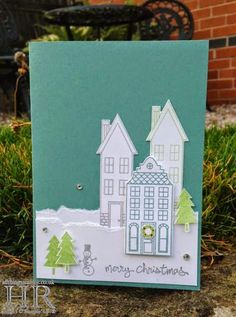 All Things Stampy: Holiday Home Christmas card