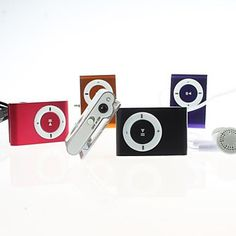 MP3 Clip-on Mini SD Card up to 2GB ( 5 Colours ). Only at www.pandadeals.co.uk