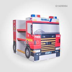 G1409084 Custom Design Car Shape Retail Pallet Display Unit