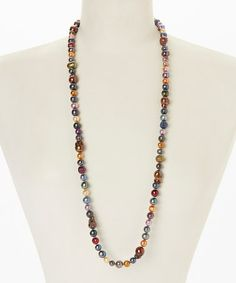 Look what I found on #zulily! Baroque Freshwater Pearl Necklace #zulilyfinds
